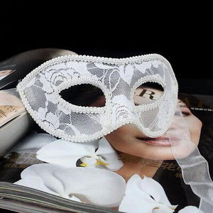 Black Women Sexy Lace Eye Mask Party Masks For Masquerade Halloween Venetian Costumes