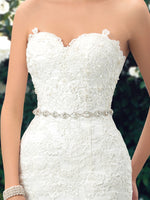 Dressv Charming Applique Bridal Gowns Mermaid Lace Wedding Dresses