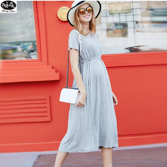 Summer Maternity Dresses High Quality Clothes For Pregnant