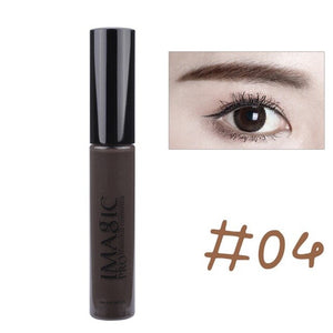 Pro Eyebrow Mascara Cream Waterproof Dye Eyebrow Gel Enhancer Eyebrow Mascara Makeup 4 Colors