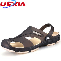 New Summer Cool Boys Personalized Buckle Breathable Casual Flip Flop Beach