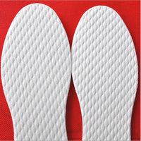 3 Pairs/Lot Disposable Comfortable Shoes Insoles For Men Women, White Wood