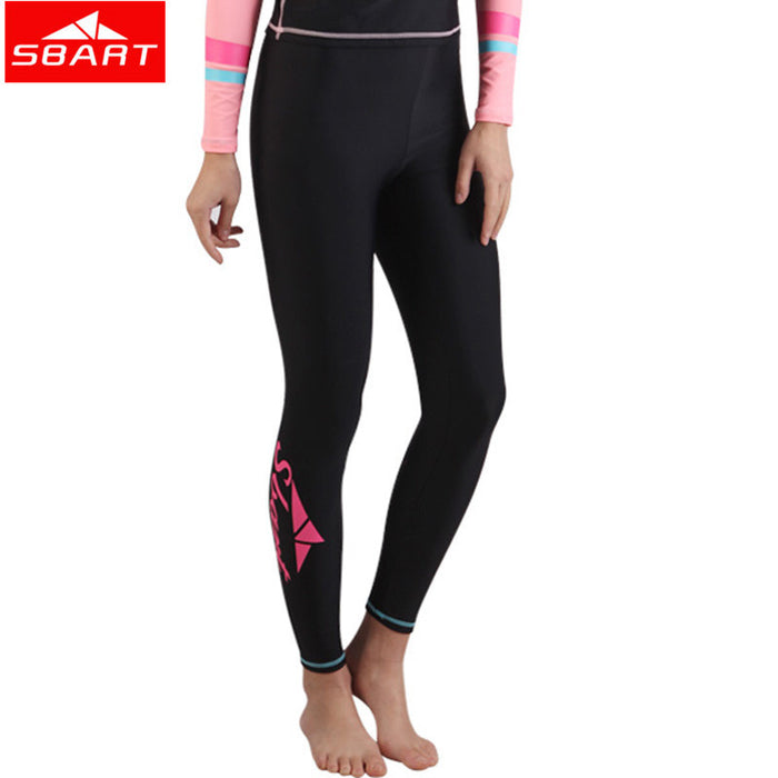 SBART Women Men Surfing Leggings Wetsuit Pant Rash guard Tight Pants