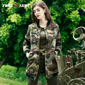 FREE ARMY 2017 New Style short Trench Coat Fashion Coats Women Brand Clothing