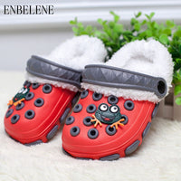 Summer Winter Little Boys Girls Mules and Clogs Garden Shoes Hollow Children