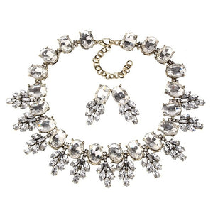Best lady New Maxi Rhinestone Bib Collier Femme Beads Collar Chokers Pendant