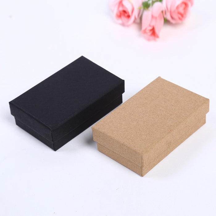 DoreenBeads 2018 New Paper Gift Box Wholesale Exquisite Ring Box Jewelry Box Jewelry Box  8*5*2.5cm 1 Piece