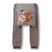 Autumn Baby Kid Infant Toddler Newborn Cute Cartoon Striped Child Boy Girl Leggings Long PP Pants