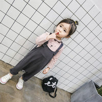 9M-3T Newborn Pants Baby Infant Korean Men And Women All-match Cotton Trousers In The Spring Of 2018 Jumpsuit Girls Kids Pant