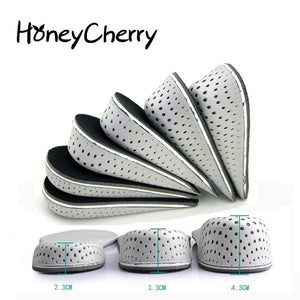 Breathable Half Insole Heighten Heel Insert Sports Shoes Pad Cushion Unisex