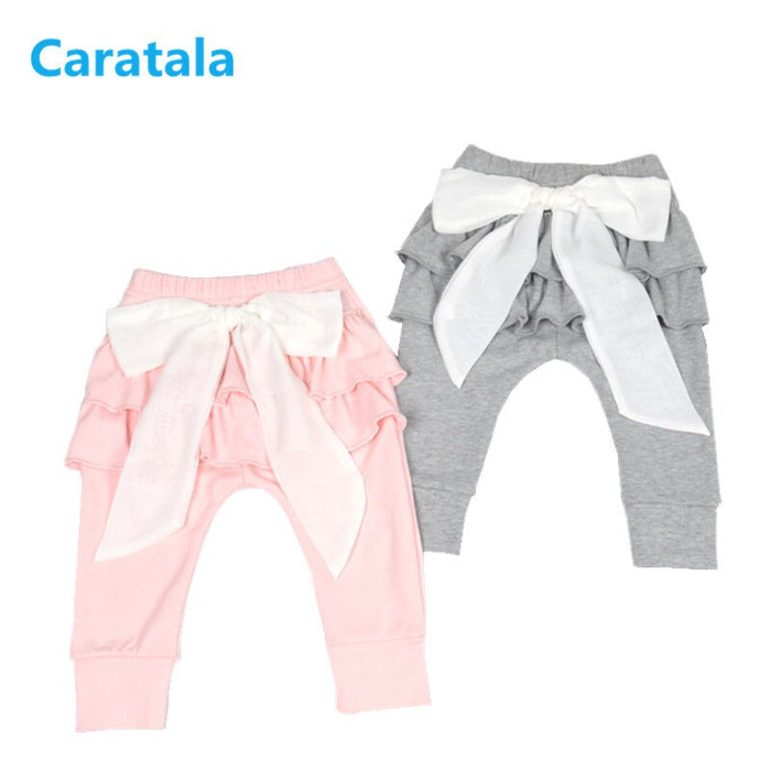 New 0-2 Years  Baby Girl Leggings Kids Baby Clothing White Gray Baby Trousers Pants