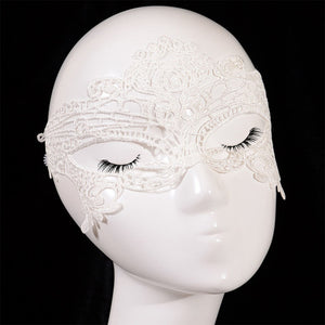 Leeiu 1PC Women Sexy Lace Eye Mask Party Masks For Masquerade Halloween Venetian Costumes Carnival Lace Mask Wholesale