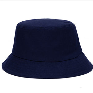 Korean jelly-colored Color Bucket Hats for Men Panama Women Hat fisherman hat Street DIY portable basin hat tide visor