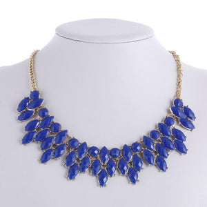 Fashion Gold Statement Necklaces & Pendants for Women Collier Femme Vintage Maxi Necklace Collares Mujer Kolye Jewelry Bijoux