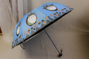 Free shipping 6 Color Anime My Neighbor Totoro Cute Daily Folding Umbrella Cosplay Collection