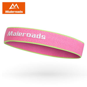 Maleroads Outdoor Sport Head Wear Women Men Running Sweat Headband Sweatbands Sportwear For Tennis Running Yoga Hair Bands