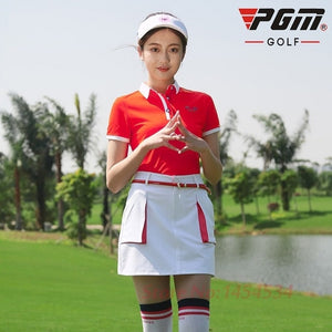 PGM New Tops Polo Shirt Lady Short Sleeved T-shirt Ultra-thin Sportswear Dry Fit Tennis Shirt Ropa De Golf Polera Hombre Clothes
