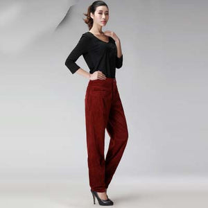 Womens Harem Pants 2017 New Spring and Summer Women Vintage Loose Trousers