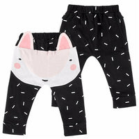 Puseky Boys Pants Bears Children Harem Pants For Girls Boy
