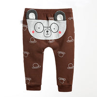Baby Pants Cartoon Baby Boy Girl PP Pants Spring Autumn Cotton Baby Harem Trousers Newborn Cute Warm Fashion Casual Baby Clothes