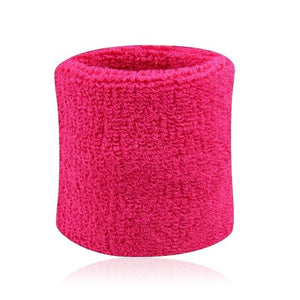 Men & Women Sports Sweatband Tennis Squash Badminton Terry Cloth Wrist Sweat Bands Basketball Gym Wristband Crossfit Wrist Wraps