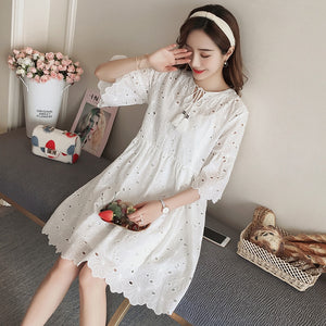 9189 2019 new spring maternity lace dress suit