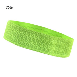 Befusy Professional Breathable Sports Headband Lycra Cycling Running Yoga Sweat Headband For Men Women Sweatband Head Bandage