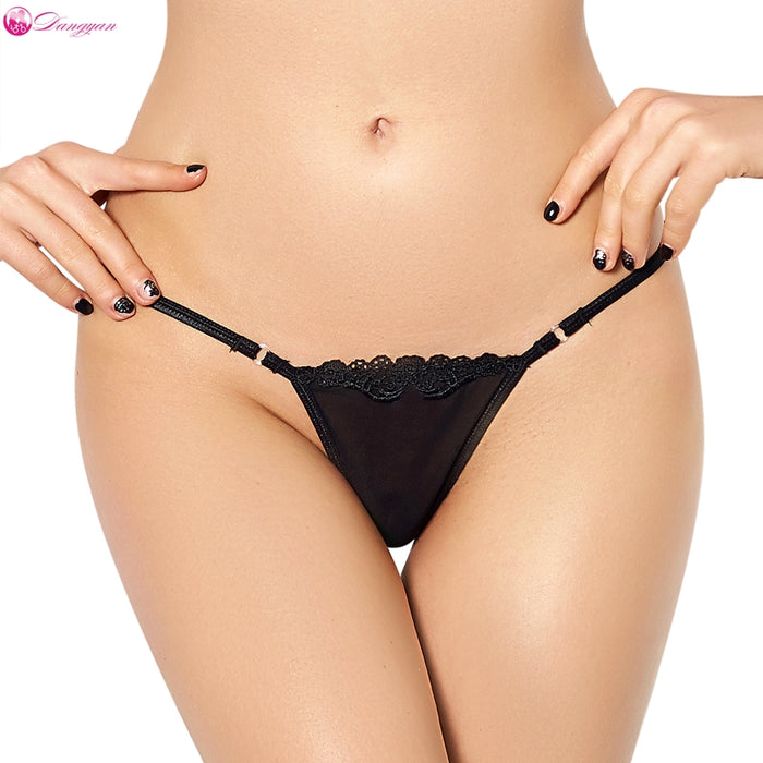 DangYan sexy lace G-string brief perspective plus size erotic panties big size sexy lingerie porn erotic underwear sexy lingerie