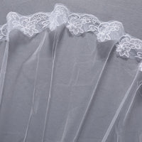 Wedding Bridal 2 Meters 3 Meters Long One Layer Veil Elegant Wedding