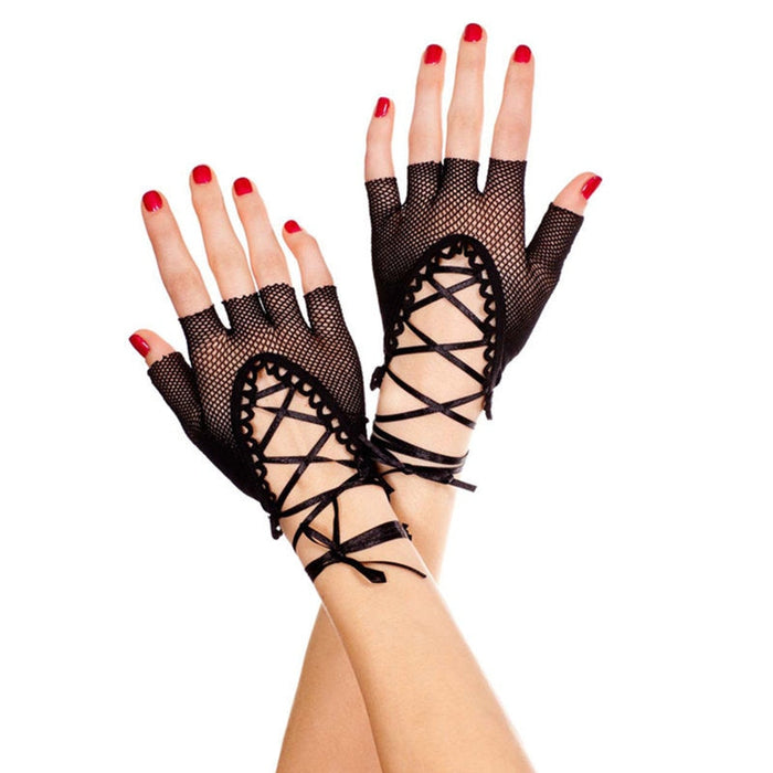 Sex Products Black Fishnet Hollow Out Sexy Gloves Role Play Nightckub Sexy Bridal Costumes Sexy Lingerie Erotic Toys For Women