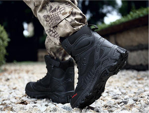 Motorcycle riding shoes men's waterproof spring anti falling Knights boots cross