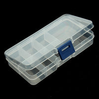 XINYAO Adjustable Plastic Jewelry Box Storage Case Craft Jewelry Organizer Beads Diy Jewelry Making Finding F2426B