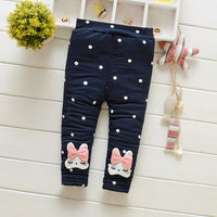 Children Warm Trousers 2018 New Baby thick Pants Newborn Infant toddler Girl Trousers For Girls Winter Autumn Casual Pants 6M 3T