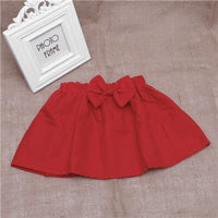 2018 New Baby Kid Girl Mini Bubble Tutu Skirt Bowknot Pleated Fluffy Party Dance vestidos infantil trolls