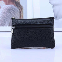 Aelicy Leather Coin Purse Women Small Wallet Change Purses Mini Zipper