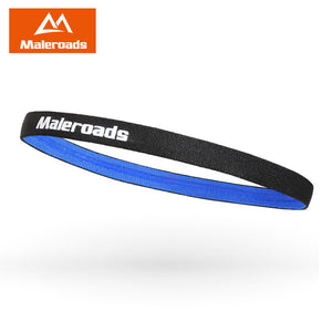 Maleroads Solid Color High Quality Polyester Sweat Headband For Men Sweatband women Yoga Hair Bands Head Sweat Bands Sports Safe