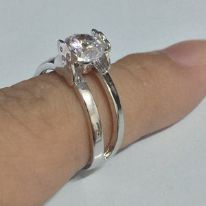KobitAce wedding engagement rings for women Cute Bear Cubic Zircon wedding