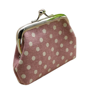 Cheap Price Cute Women Ladies Small Mini Coin Purse Dots