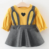 Baby Girl Winter Clothes Cotton Cat Bowknot Baby Dresses Autumn Cute Newborn Infant Toddler Clothing Bebes Costume Christmas