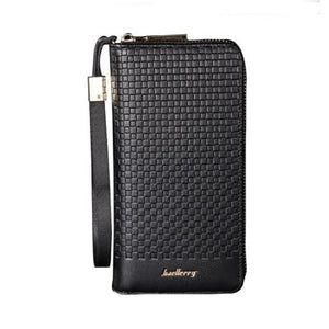 Zipper Long Phone Clutch Handy Men Women Purse Wallet Female Male Cuzdan