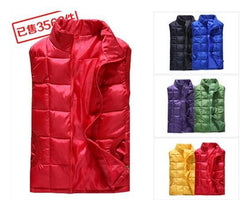 women's warm winter down cotton vest female autumn spring