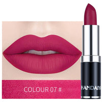Nude Matte Velvet Lipstick  Waterproof Smooth Lip Stick Long Lasting
