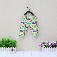 Baby Cotton Long Pants Elastic Waist Leggings Girls Soft Bottoms Children Clothes Butterfly Pattern New Clothing Kids Suits 2018