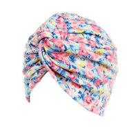 KANCOOLD Bandanas	Wrap Cap Casual	Stretchable	Women Floral Cancer Chemo Hat Beanie Scarf Turban Head Wrap Cap	gloves PJAT9