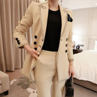 New arrival women professional temperament double breasted
