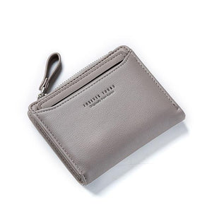WEICHEN Women Wallets With Individual ID Card Holder Zipper Coin Pocket Ladies Small Purses Female Wallet Carteira High Quality