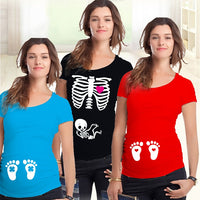 Pregnant Maternity T Shirts Shorts Casual Pregnancy Clothes For Pregnant Women