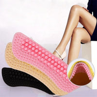 2pcs Fashion Soft Sticky Silica gel Fabric Shoe Pads Liner Grips Back Heel Inserts