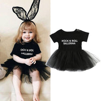 2018 Children Ball Short  Sleeve Dresses Princess Children Baby Girl Clothing Lace Party Gown Fancy Dresses Girl Birthday