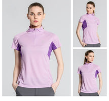 2016 Summer Women Outdoor Sport Short-sleeve Quick Dry T-shirts Girls Breathable Climbing Hiking Tees